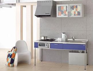 スタイリッシュな集合住宅におすすめ。キッチンが一目で気に入った、という入居者を増やしたいオーナー様やビルダー様に。