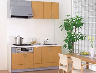 機能的な戸建住宅におすすめ。2階や離れのキッチンも機能豊富に、お洒落なデザインで、というお施主様に。